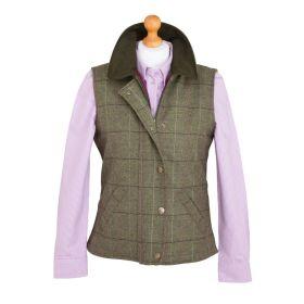 Caledonia Ladies Tweed Waistcoat