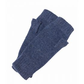 Lambswool Mitts Blue