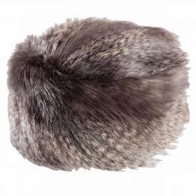 Faux Fur Hat Earl Grey