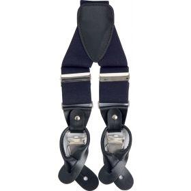 Classic Luxury Braces - Navy