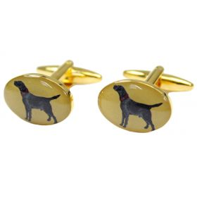 Country Cufflinks Labrador