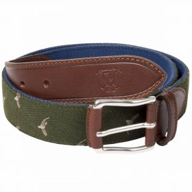 Game Bird Web Belts - Green