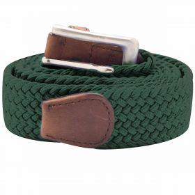 Stretch Corded Belts - Dark Green