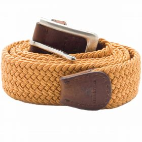 Stretch Corded Belts - Sand