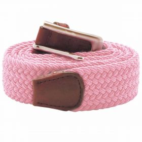 Stretch Corded Belts - Pink