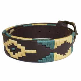 Polo Belts Cream/Teal