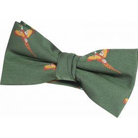 Bow Ties Pheasant Green