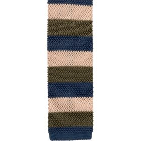 Knitted Silk Tie Striped