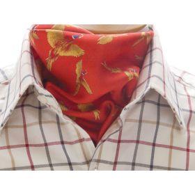 Silk Cravat - Red