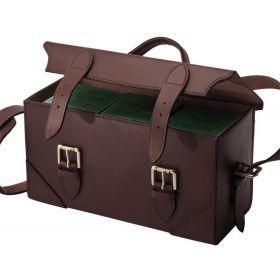 FFF Leather Hinged Cartridge Box