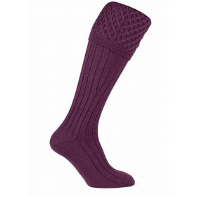 Chelsea Shooting Socks Claret