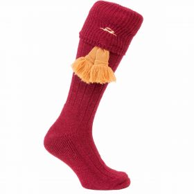 Mad as March Hare Socks Cherry