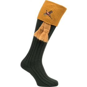 Game on Shooting Socks Green Gold