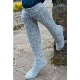 Ladies Soft Alpaca Knee high Socks