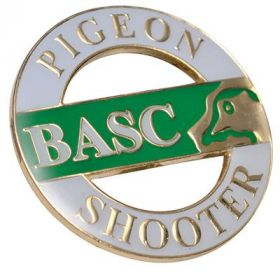 BASC Pigeon Shooters Badge