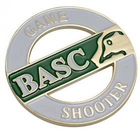 BASC Game Shooter Badge