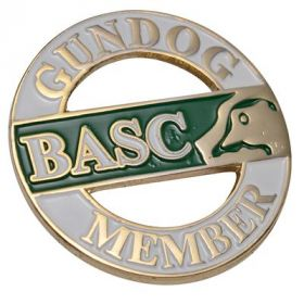BASC Gundog Badge