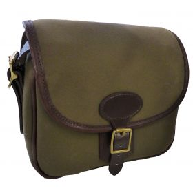BASC Leather and Canvas Cartridge Bag