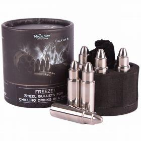 Steel Bullet Ice Cube Set