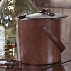 Leather Ice Bucket