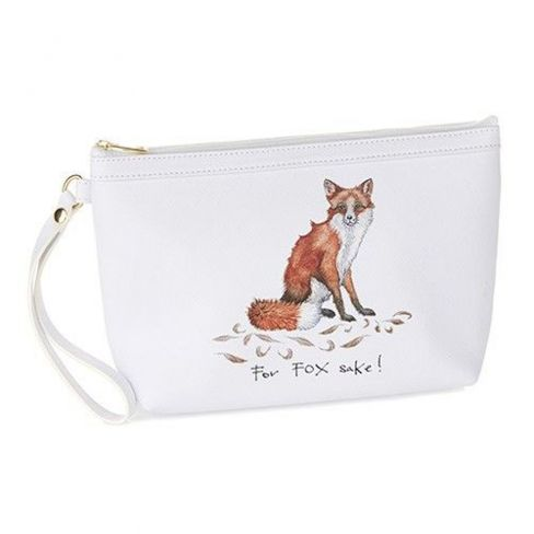 Make up Bag and Compact Mirror - For Fox Sake