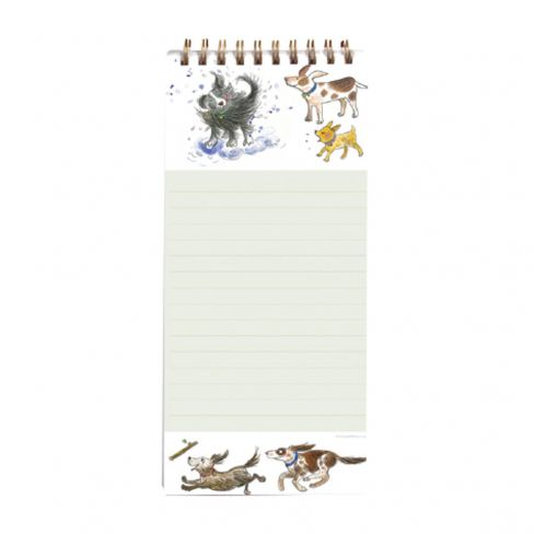 Happy Dogs Magnetic Notepad