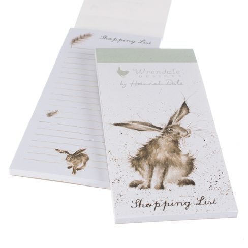 Wrendale Magnetic Shopping Pads - Hare
