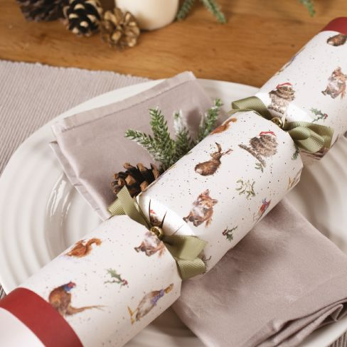 Wrendale Christmas Crackers - Country Animal