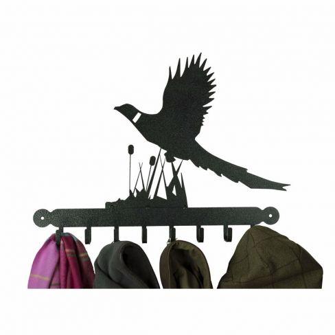 Flying Pheasant Coat Rack