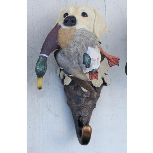 Labrador with Mallard Hangup Yellow