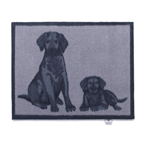 Doormat Labrador and Puppy