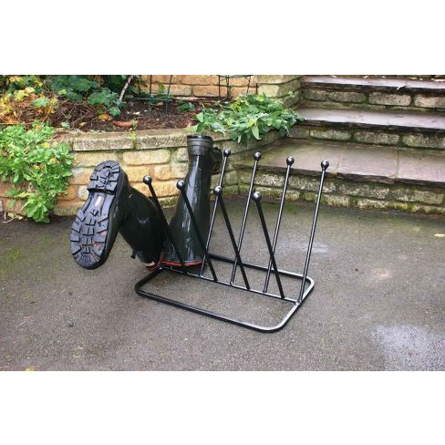 5 Pair Boot Rack
