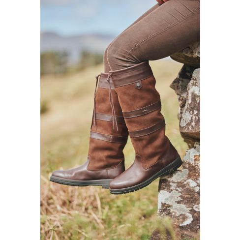 Dubarry Galway Regular Fit Boots - Walnut