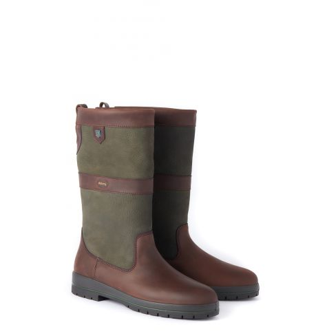 Dubarry Kildare Calf Height - Ivy/Brown