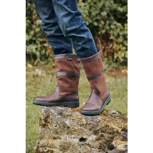 Dubarry Kildare Calf Height - Walnut