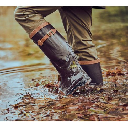 Aigle Parcour 2 Signature Leather Wellingtons