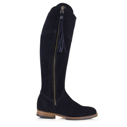 Ladies Spanish Style Boots with Tassel Black