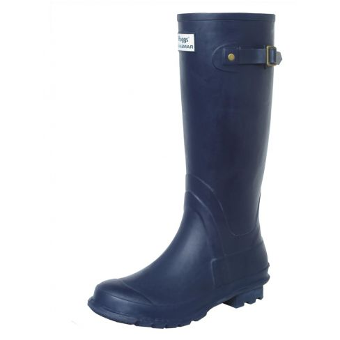Hoggs of Fife Braemar Wellington Boot - Navy