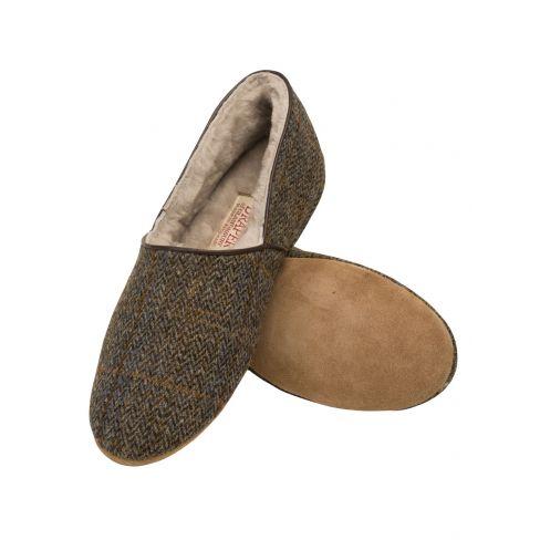 Harris Tweed Slippers