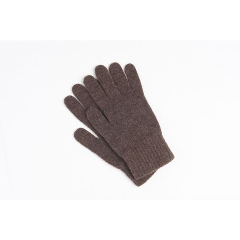 Lambswool Men's Goves - Brown
