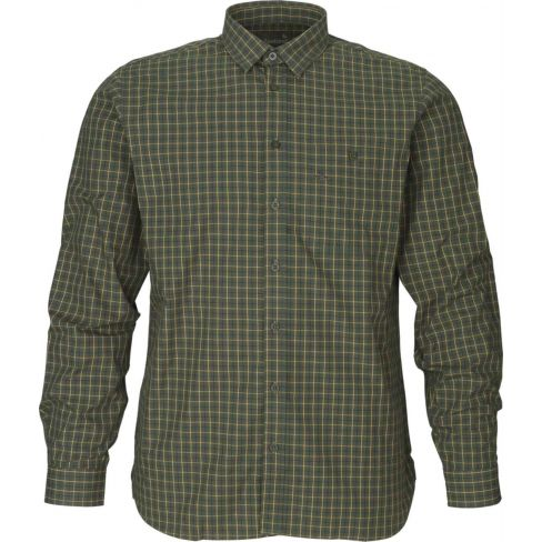 Warwick shirt Pine green check