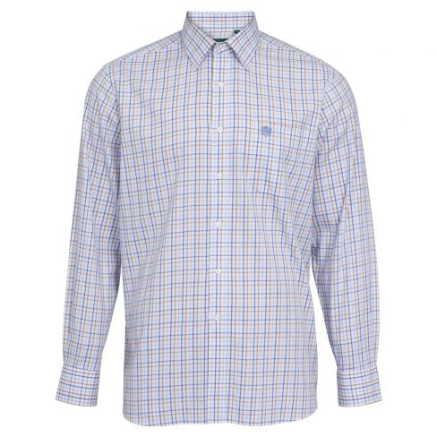 Aylesbury Men's Classic Shirt - Blue/Beige