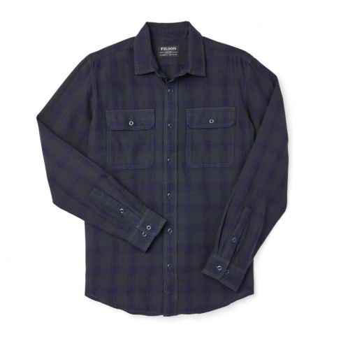 Filson Scout Shirt Black/Indigo