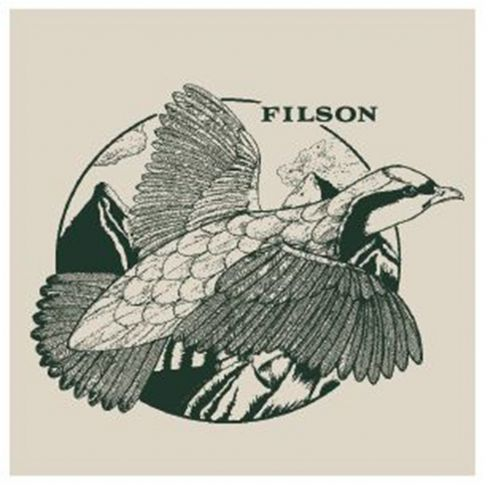 Filson Short Sleeve lightweight Outfitter T-shirt Grouse