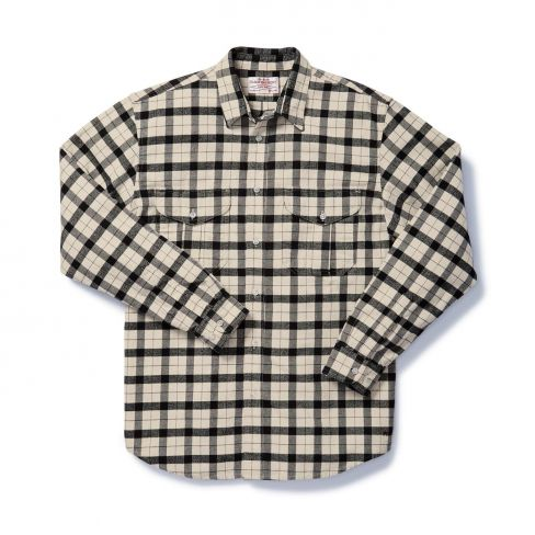 Filson Alaskan Guide Shirt Cream/Black