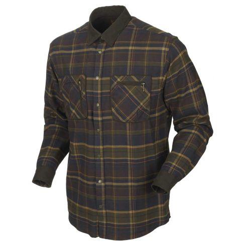Harkila Pajala Shirt Mellow Brown Check