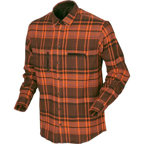 Harkila Eide Shirt Orange Check
