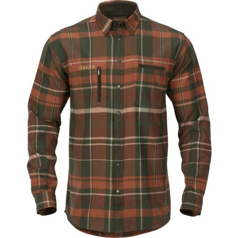Harkila Eide Shirt Rust Check