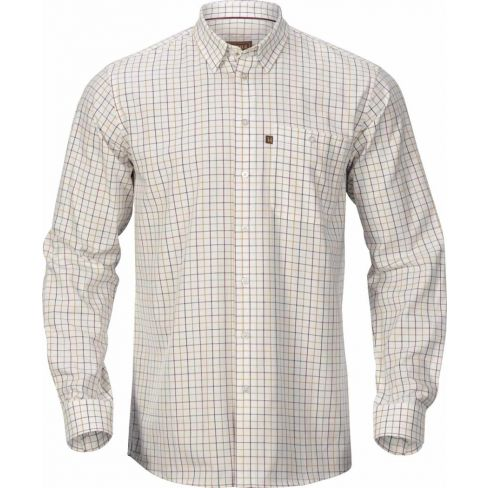 Harkila Retrieve Shirt Burgundy Check