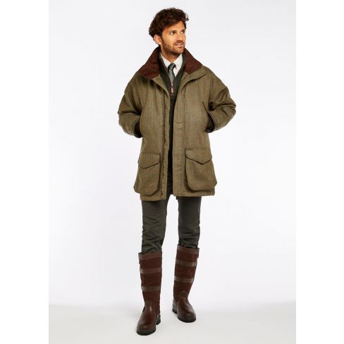 Dubarry Ballinturbet Tweed Shooting Coat Cedar